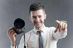 Chiamata lanciante Fotografie Stock Libere da Diritti