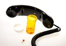 Chiamata medica di emergenza immagini stock libere da diritti