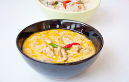 Chiamata tailandese KAENG KHEAW WAN KAI dell'alimento Immagine Stock Libera da Diritti