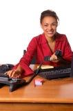 Chiamata in ufficio Fotografie Stock Libere da Diritti
