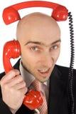 Chiamate di telefono fotografia stock
