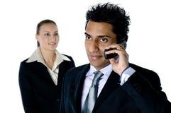 Chiamate di telefono di affari Fotografia Stock Libera da Diritti