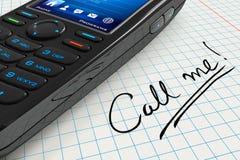 Chiamilo! Immagine Stock Libera da Diritti