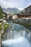 Chianale (Italian Alps) Stock Images