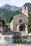 Chianale (Italian Alps) Royalty Free Stock Image
