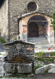 Chianale (Italian Alps) Stock Photography