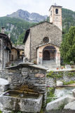 Chianale (Italian Alps) Royalty Free Stock Image