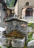 Chianale (Italian Alps) Royalty Free Stock Photography