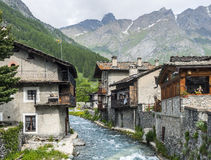 Chianale (Italian Alps) Royalty Free Stock Photography
