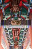 Chianese-Kunstarchitektur stockbilder