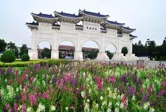 chiang大厅kai纪念国家shek台湾 免版税库存照片
