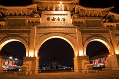 chiang自由门kai纪念shek台北 库存图片