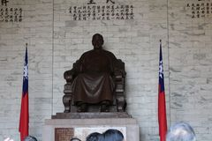 chiang αναμνηστικό shek kai αιθουσών Στοκ εικόνα με δικαίωμα ελεύθερης χρήσης