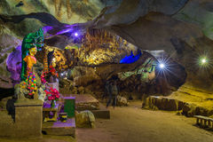 Chiang Dao Cave, Chiang Mai Province, Thaïlande Photo stock