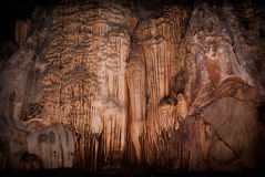 Chiang Dao Cave. Stalactites inside the Chiang Dao caves Stock Images