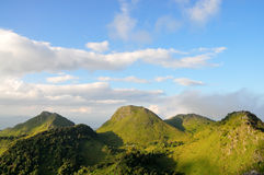 Chiang Dao mountain Royalty Free Stock Images