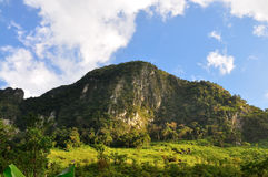 Chiang Dao mountain Royalty Free Stock Photos