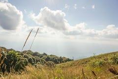 Chiang Dao Mountain. Chiang Mai Province, Thailand Royalty Free Stock Photo