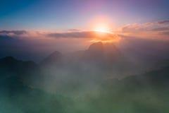 Chiang Dao Mountain, Chiang Mai, Tailandia Fotografie Stock