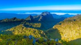 Chiang Dao Mountain, Chiang Mai, Tailandia Immagini Stock