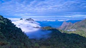 Chiang Dao Mountain, Chiang Mai, Tailandia Fotografia Stock