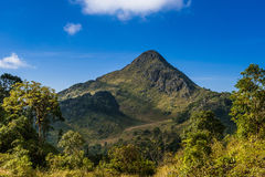 Chiang Dao Mountain in Thailand Royalty Free Stock Images