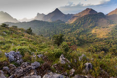 Chiang dao mountains Stock Photography
