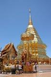 chiang doi mai suthep寺庙泰国 免版税库存图片