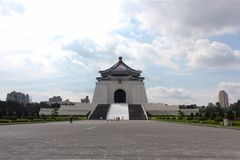 Chiang Kai Sheck Memorial Hall Royaltyfri Foto