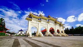 Chiang Kai-shek мемориальный Hall, Тайвань акции видеоматериалы
