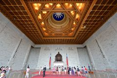 Chiang Kai-shek hall commémoratif Images stock