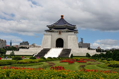 Chiang Kai Shek Memorial. Taipei Liberty Square. Taiwan stock photography