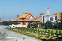 Chiang Kai-shek Memorial Garden in Taipei - Taiwan. stock images