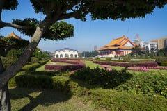 Chiang Kai-shek Memorial Garden in Taipei - Taiwan. Royalty Free Stock Photo
