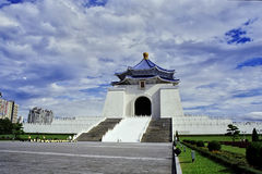 Chiang Kai-shek Memorial Hall. In Taiwan, Republic of China, Republic of China stock photography