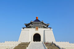 Chiang kai shek memorial hall Royalty Free Stock Images
