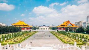 Chiang Kai-shek Memorial Hall en Taipei, Taiwán imagenes de archivo