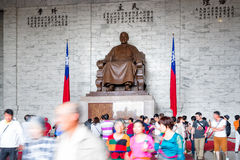 Chiang Kai-Shek Memorial Hall i Taipei Royaltyfria Bilder