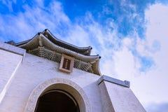 Chiang Kai-Shek Memorial Hall i Taipei Fotografering för Bildbyråer
