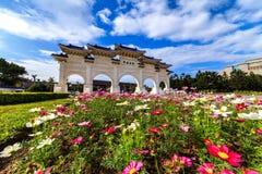 Chiang Kai-Shek Memorial Hall i Taipei Royaltyfria Foton