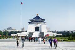 Chiang Kai-shek Memorial Hall i Taipei - Taiwan royaltyfria foton