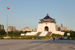 Chiang Kai-Shek Memorial Hall at Liberty Square in Taipei City Stock Photography