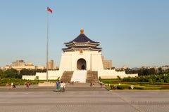 Chiang Kai-Shek Memorial Hall at Liberty Square in Taipei City Royalty Free Stock Photography