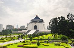 Taipei Chiang Kai-Shek Memorial Hall stock image