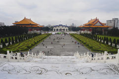 Chiang Kai-Shek Memorial Hall. Located at the heart of Taipei City, Chiang Kai-Shek Memorial Hall (National Taiwan Democracy Memorial Hall) was built to royalty free stock images