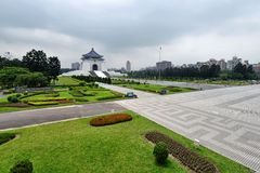 Chiang Kai-shek Memorial Hall Royalty Free Stock Photos
