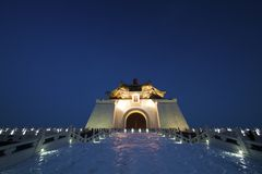 Chiang kai shek memorial hall Stock Photos