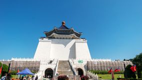 Chiang Kai-shek Memorial Hall October 21, 2018 in Taipei, TAIWAN royalty free stock photo