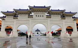 Chiang Kai-Shek Memorial Hall in Taipeh Stock Fotografie