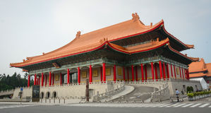 Chiang Kai-Shek Memorial Hall in Taipei Fotografia Stock Libera da Diritti